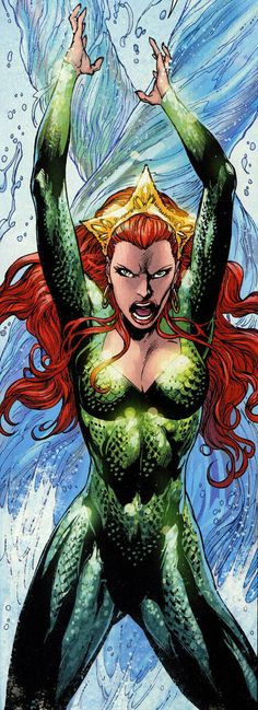 Mera by Ivan Reis and Joe Prado