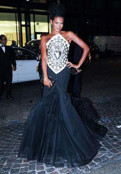 denny mendez Milan Womens Fashion Week Spring/Summer 2013 - amfAR Charity Auction Red Carpet