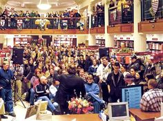 A speech by Robert Jordan    [Picture of RJ giving a talk at Harvard Coop during the WINTER'S HEART signing tour in 2003]    We were digging through a moldy... - Robert Jordan's The Wheel of Time ™ - Google+