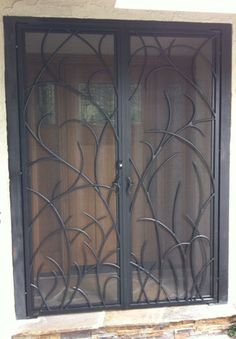 modern organic wrought iron entryways - Google Search