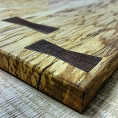 Takahashi-McGil - American black walnut butterfly joints on Beech...