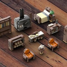 The Bakery - Lego Haus Ideen