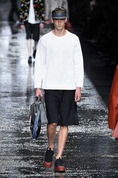 Fendi Spring Summer 2016 Collection Primavera Verano #Menswear #Trends #Tendencias #Moda Hombre Milan Fashion Week - D.P.