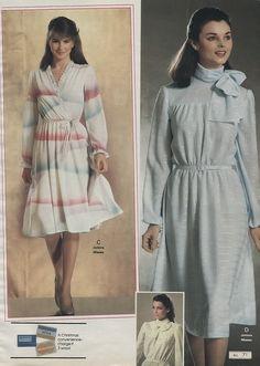 1983 xx xx montgomery ward christmas catalog p267 pleated skirts pinterest 80er mode mode - 80er damenmode ...