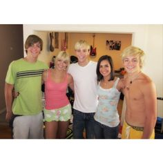 Rocky, Rydel, Riker, their cousin Lori and Ross <3