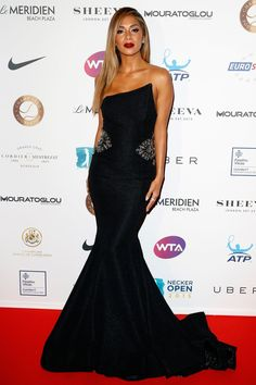 Pin for Later: The Very Best Style Moments From Last Year's Cannes Red Carpet Nicole Scherzinger The singer opted for a structured black mermaid gown with a contrasting print interior and embellishment at the hip.