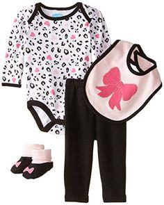 Bon Bebe Baby-Girls Bows and Animal Prints 4 Piece Set with Booties Bib Bodysuit and Leggings, Multi, 3-6 Months Bon Bebe http://www.amazon.com/dp/B00Z84ROJI/ref=cm_sw_r_pi_dp_NAa0vb1EXT3RJ