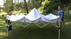 Quik Shade - Commercial C100 Instant Canopy - YouTube