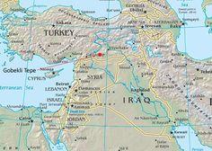 turkey tepe | Localização de Göbekli Tepe , na região mais ao norte do Crescente…