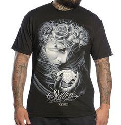 Sullen Art Collective Diamond Dust Tee Graphic Screen Print Cotton Black T-shirt #Sullen #GraphicTee