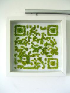 via Etsy. Moss Graffiti, Moss Art, Picture Boards, Plant Pictures, Plant Wall, Wall Treatments, Signage, Iphone, Etsy