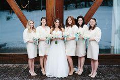Sundance resort tiffany blue white classic wedding flowers utah calie rose