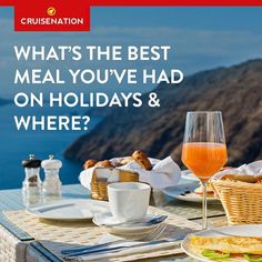 We would love to know..........    What's the best meal you've had on holidays and where?  WE asked Neil our Web Manager and his was the surf & turf at Fahrenheit 555 restaurant on the Carnival Vista he said it was mouth-watering and the best Fillet steak and lobster he has ever had.  He literally described it in a way that we are all very hungry now in the office!!!! let us know yours?     #food #travel #experience #meal #memories #cruise #holidays #family #friends #getaway #holidayideas…