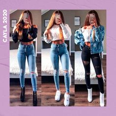 Teen Fashion Outfits, Mode Outfits, Outfits For Teens, Fall Outfits, Summer Outfits, Outfits For Rainy Days, Style Fashion, Outfits For School, Rainy Day Outfit For Spring