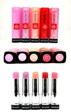 Revlon LipButter lipsticks. I just got the one on the far right, and I love the color <3