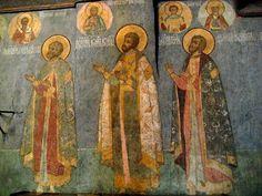Hans Majestæt, Moskva Kreml.Chast 5.Sobor St. Michael Ærkeenglen (Cathedral af Ærkeenglen). Diskussion om LiveInternet - Russisk service Online Diaries