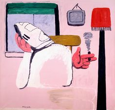 Philip Guston. By the Window, 1969.