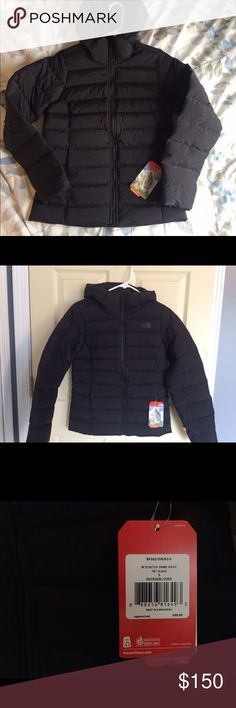 The North Face W Stretch Down Jacket NEW Never worn, this jacket was a great gift but is not my style. Women's small black TNF down jacket. Active fit. Responsible down sourcing. Great for cold days as we transition to spring. This is my first listing, let me know if you have questions! The North Face Jackets & Coats