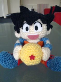 K's toy adventure.: Dragon Ball Amigurumi - Son Goku
