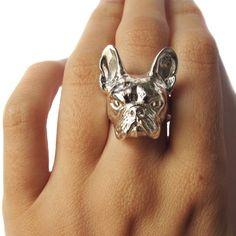 French Bulldog ring by Verameat