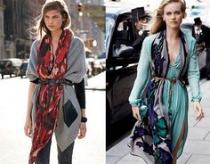 Tendencias AW14: Belted scarf