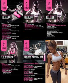 Get a head start on your beach body with these 5 extremely effective ab workouts designed and used by FitMiss athlete Chady Dunmore.