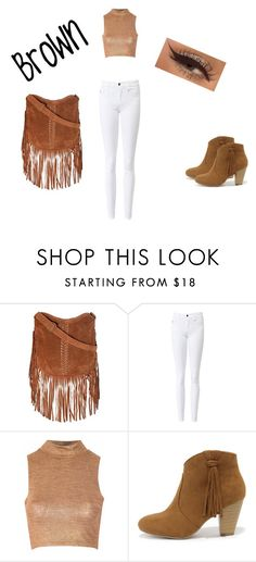 """""""Untitled #63"""" by princessbrianna118236 ❤ liked on Polyvore featuring Glamorous and Report"""