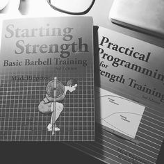 These books were not meant for a kindle (learned that the hard way) #startingstrength #practicalprogramming #barbell #liftheavy #fitness #nutrition