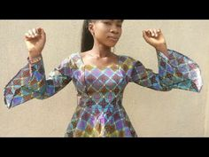 How To Make Six Pieces Blouse/Top without pattern ( Part One ) - YouTube