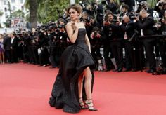 Cannes 2014 Cheryl Cole in Monique Lhuillier
