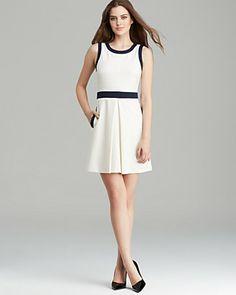 Amanda Uprichard Dress - Golf Fit and Flare   Bloomingdale's