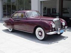 1954 Bentley R-Type Continental Fastback Coupe by H.J. MULLIN