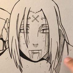 Naruto Sketch Drawing, Art Drawings Sketches Simple, Anime Sketch, Manga Drawing, Cartoon Drawings, Naruto Drawings Easy, Sasuke Drawing, Drawing Anime Clothes, Sketch Art