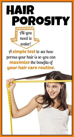 Hair porosity - A simple test to see how porous your hair is so you can maximize the benefits of your hair care routine - thecrunchymoose.com