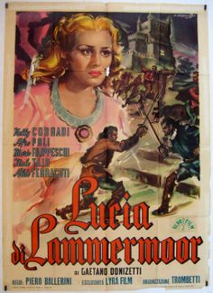 ♫ Lucia di Lammermoor #Opera #Donizetti by Teatro Carlo Felice di Genova with Dario Argento as a director online from March 6th on www.streamopera,com ♫