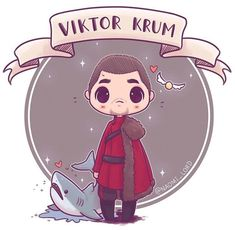 Viktor Krum: Triwizard Tournament Champion - Art by Lord Fanart Harry Potter, Harry James Potter, Arte Do Harry Potter, Harry Potter Cartoon, Cute Harry Potter, Harry Potter Drawings, Harry Potter Wallpaper, Harry Potter Characters, Harry Potter Universal