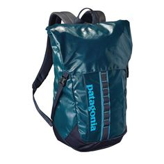 We built the Black Hole Pack 35L with an urban aesthetic and an alpine psyche—it's tough and highly weather-resistant. Check it out at Patagonia.com.