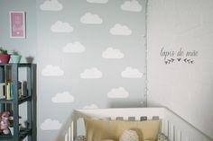 {DIY} Parede de Nuvens Para Quarto de Bebê