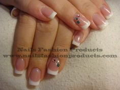 UV French Gels  French Manicure is absolutely beautiful. Fingernails manicured in this manner are easy to create, always look simply elegant and well cared.  Order starting with your favorite Nails Fashion Products www.nailsfashionproducts.com