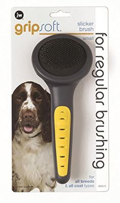 JW Pet Company GripSoft Slicker Brush Dog Brush, Small *** Discover this special dog product, click the image : Dog Grooming