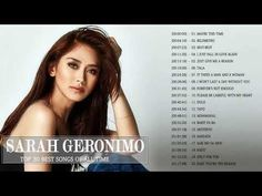 Sarah Geronimo Nonstop Songs 2018 - Sarah Geronimo Tagalog Love Songs - Sarah Geronimo Full Album - YouTube Love Song Sara Bareilles, Love Songs Playlist, Give It To Me, Take That, Falling In Love Again, Tagalog, Geronimo, Just Giving, Enough Is Enough