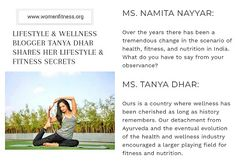 Tanya Dhar for Women Fitness India