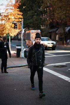 http://chicerman.com  meninthistown:  Biker.  #streetstyleformen