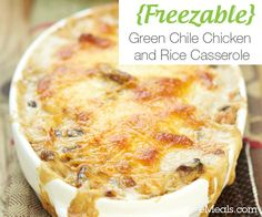 With the fall weather, comes the desire for some classic comfort food. This delicious freezable recipe fits the bill just perfectly!