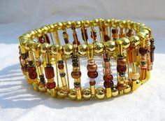 Lovely Safety Pin Bracelet