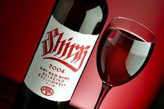 Hand Made Wine Label / SHIRAZ by Jordan Jelev, mobile 00359887323000, via Behance