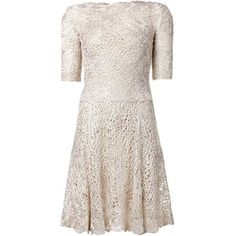 Oscar de la Renta birds nest crochet dress £2,926