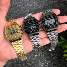 Retro Watches, Vintage Watches, Fashion Necklace, Fashion Jewelry, Casio Digital, Skeleton Watches, Dream Watches, Steampunk Necklace, Luxury Watches For Men