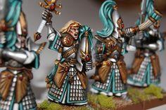 High Elf Swodrmasters by Peibol the detail... o8