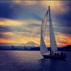 Navy Sailing